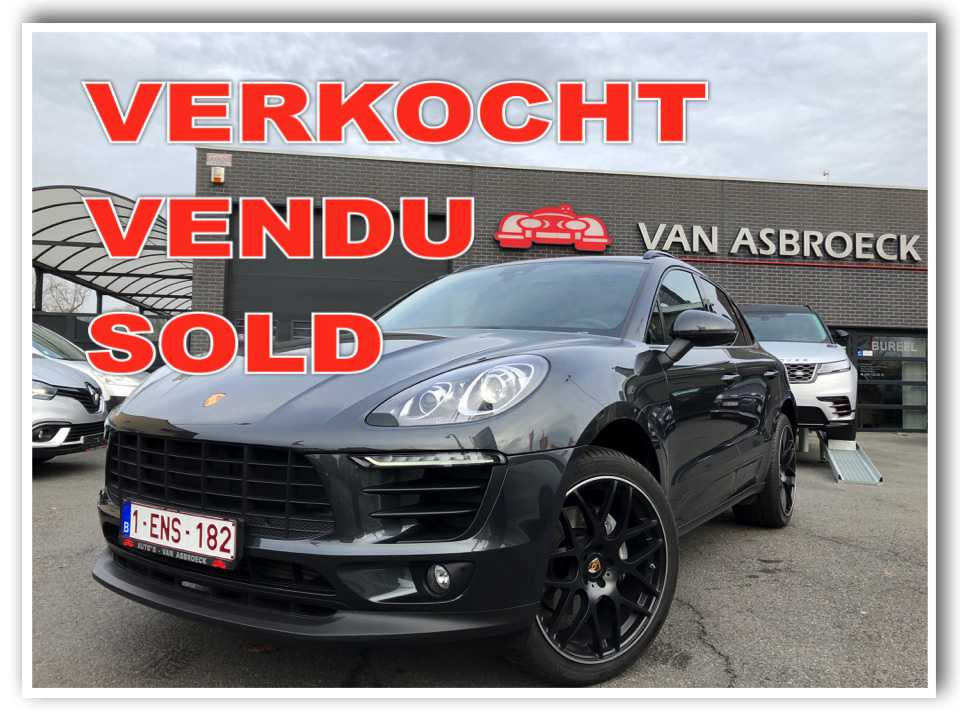 Autos Van Asbroeck Porsche Macan 2.0 Turbo PDK FULL FULL OPTION !!! 13600 km !!!