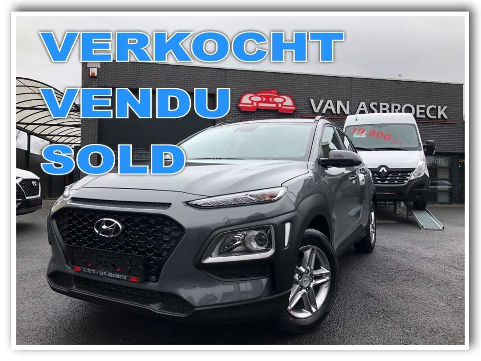 Autos Van Asbroeck Hyundai KONA 1.0 T-GDi Twist -GPS-Camera-App Carplay-NIEUW -21%