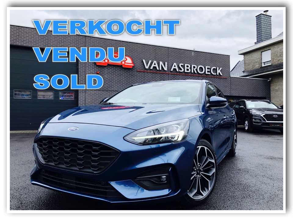 Autos Van Asbroeck Ford Focus 1.0 EcoBoost ST-Line Business ! NIEUW -28 % ! Full