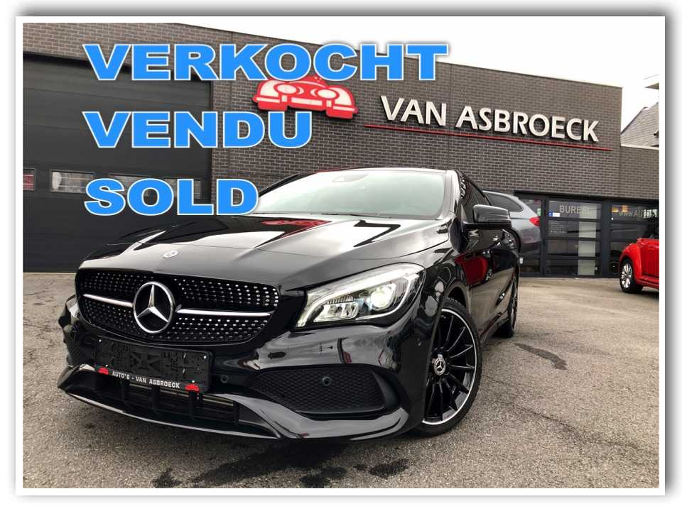Autos Van Asbroeck Mercedes-Benz CLA 180 Break Pack AMG-Night Pakket-Panorama Dak-Led-GPS !